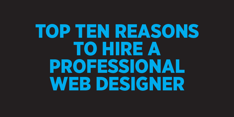 However, here are five reasons why hiring a professional web design agency  is a better option.