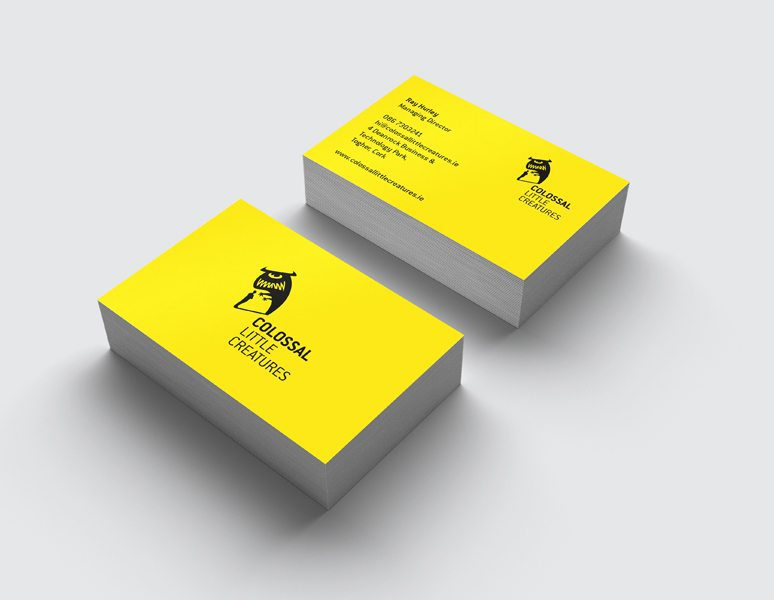 colossal-little-creatures-business-cards